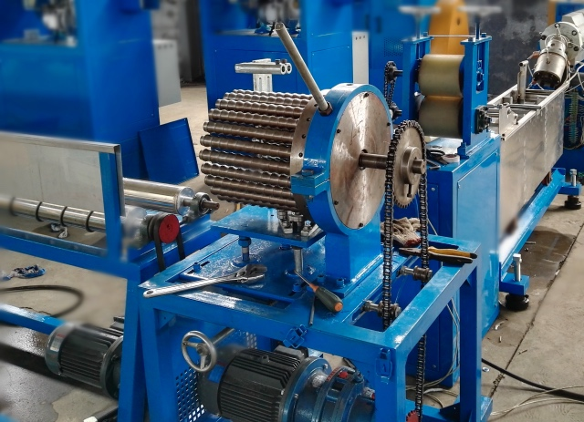Spiral Rod Winding Machine for TPU Air Duct Production